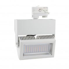Faro LED Rettengolare per binario trifase 40W