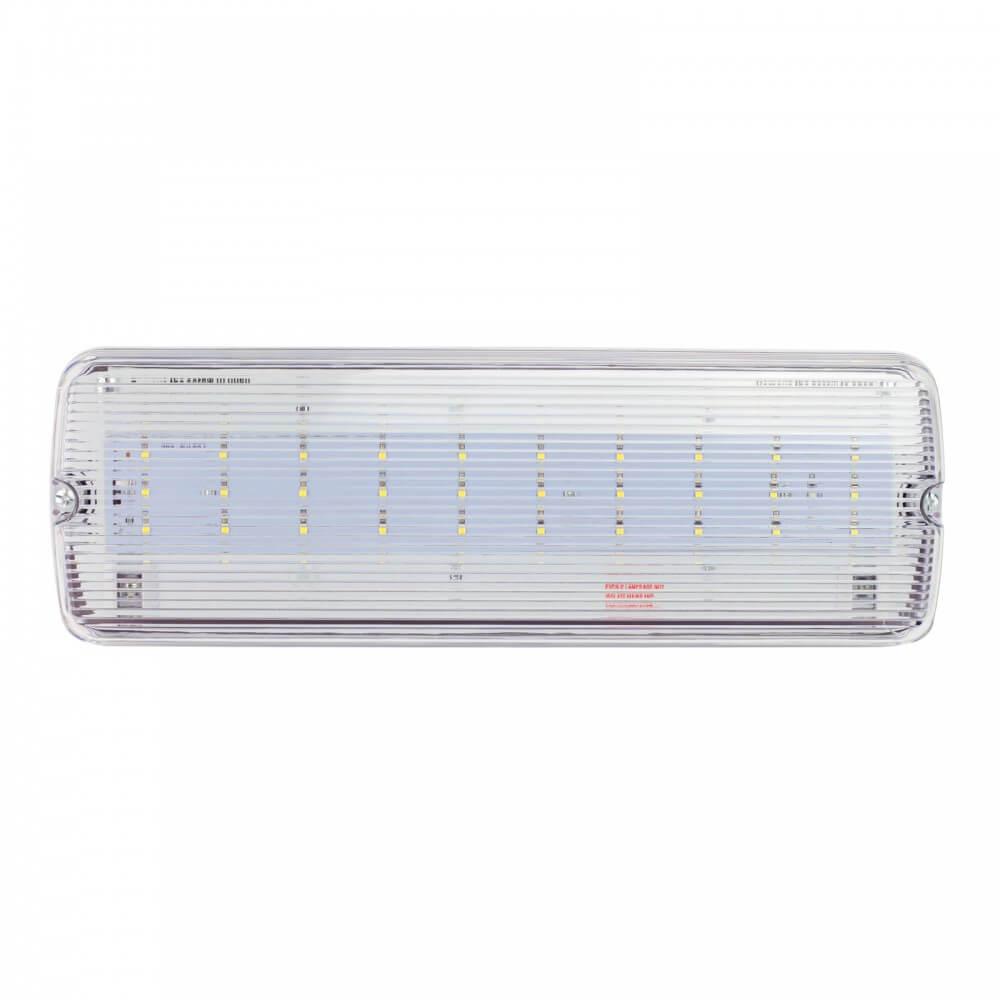 lampada emergenza led da soffitto o parete ip65 leddiretto