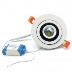Faretto LED da Incasso 7W- Orientabile