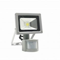 Faro LED 10W - Sensore Movimento e Crepuscolare - Premium