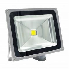 Faro Slim LED 50W Sensore Movimento e Crepuscolare - Premium