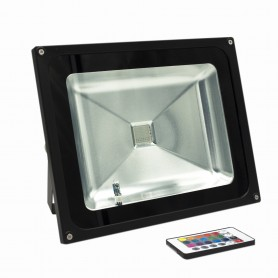 Faro LED 50W -RGB - Cambiacolore- Premium