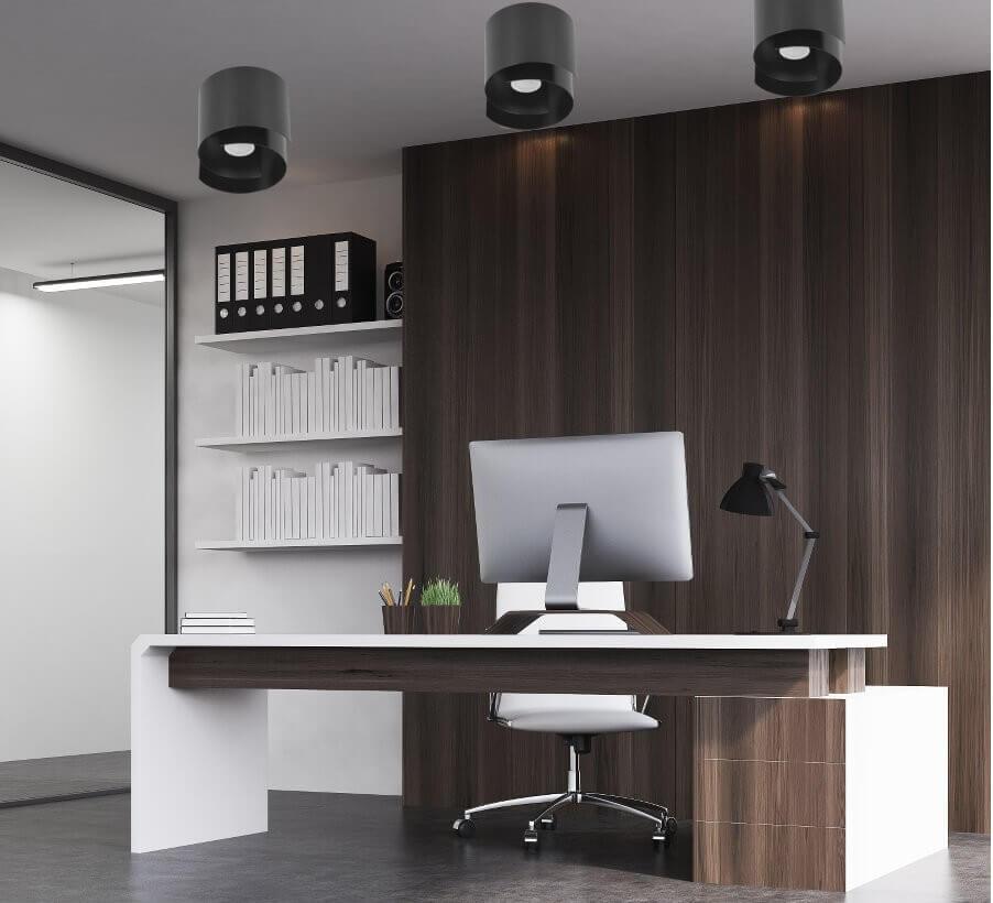 scrivania lavoro da casa LEDdiretto